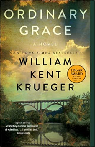 Image result for Ordinary Grace by William Kent Krueger.