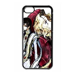 Code Geass iPhone 5c Cell Phone Case Black WON6189218044267