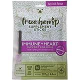 True Leaf Pet Hemp Supplement Sticks | Net Weight 6.6 oz - Omega 3 and Antioxidants | Immune + Heart Support for Dogs