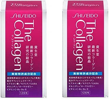 The Collagen Tablet V 126 tablets (Set of 2)