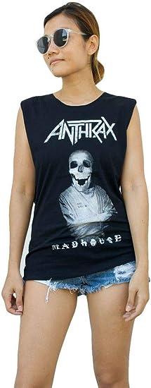 Vest Tank-Tops Singlets T-Shirts Free Sizes Ladies Devo Dress