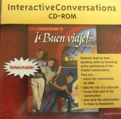 Interactive Conversations CD-ROM (Glencoe Spanish 1: Buen Viaje!)