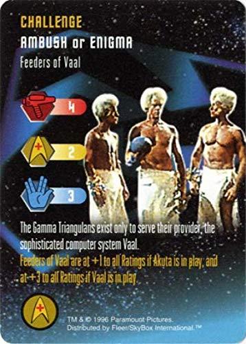 Feeders of Vaal Star Trek: The Card Game, Starfleet Maneuvers - Fleer/Skybox, 1996