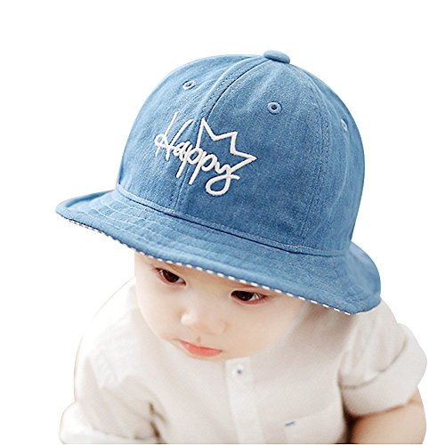 hot sell IMLECK Unisex Baby Happy Cowboy Wide Brim Sun Protection Hat supplies