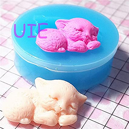 Kitty Cats Silicone Mold Kids-Girls-Boys Fondant-Resin-Clay-Candy-Jewelery..
