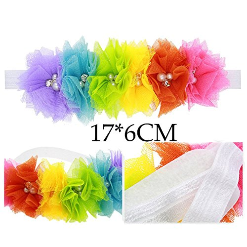 Floral Fall Rainbow Colorful Headbands product image