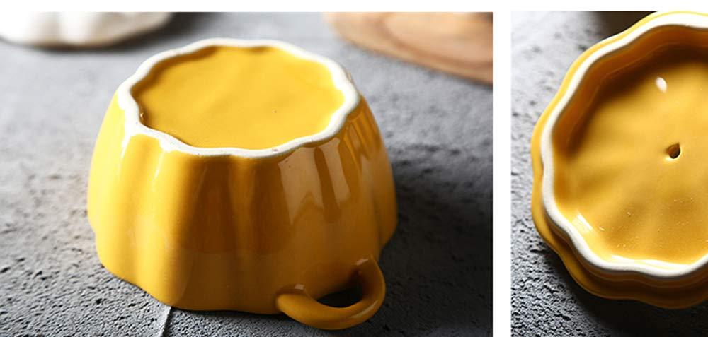 Amazon.com | Ceramics Pumpkin Shape Soup Dessert Bowl with Lid: Soup Bowls