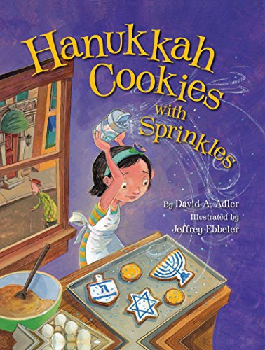 Hanukkah Cookies with Sprinkles ()