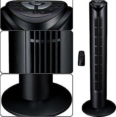 Syntrox Germany TVR-29W Turmventilator Tower Ventilator mit Fernbedienung 7,5 Stunden Timer und Oszillation Standventilator S/äulenventilator Windmaschine L/üfter Gebl/äse Luftk/ühler