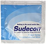(12 ea.) Fox Labs, Sudecon - OC, CS, CN & Pepper Spray Decontamination Wipes