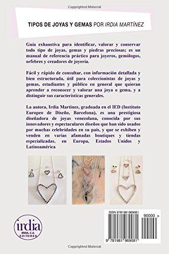 Amazon.com: Tipos de Joyas y Gemas (Spanish Edition ...