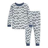 Burt's Bees Baby Unisex Baby Pajamas, Tee and Pant 2-Piece PJ Set, 100%