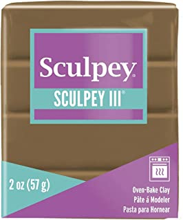 product image for Polyform Sculpey III Polymer Clay, 2-Ounce, Hazelnut