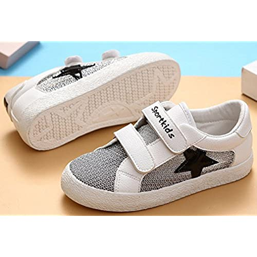 VECJUNIA Boys Girls Flats Shoes Round Toe Low Top Cut Out Flats Breathable Summer Shoes Toddler//Little Kid//Big Kid