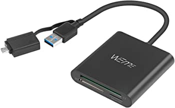Weme SuperSpeed USB 3.0 Multi-in-1 Card Reader w/Adapter