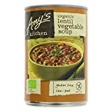 Amy's Kitchen Low Sodium Lentil vegetable Soup, 14.5-ounce Cans (Pack of 12)