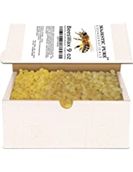 Majestic Pure Beeswax Pellets, Organic, Natural Yellow, 9 oz
