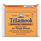 Tillamook, Medium Cheddar Cheese, Sliced, 12 oz