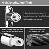 NDakter Bike Lock 12mm Heavy Duty, Portable Bicycle Disc Lock, Cycling Locks Anti-Theft High Security for Mountain Road Commute Bike, Kids' Bicycles