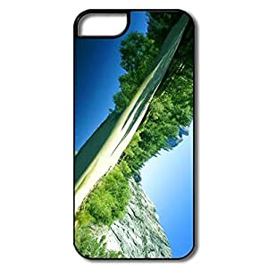 IPhone 5 5S Hard Plastic Cases, Yosemite Valley White/black Covers For IPhone 5/5S