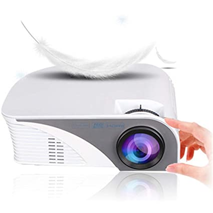 Amazon.com: QUARKJK Mini LED Projector Home Multimedia ...