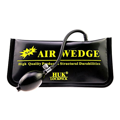 Black Air Pump Wedge Multiple Use for Home or Car,Large Size