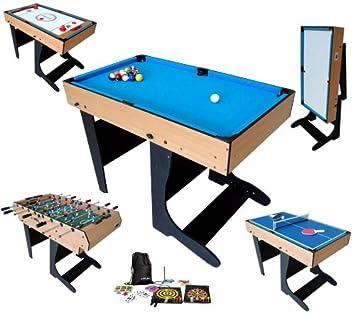Billard Table Multi Jeux 21 En 1 Pliable Riley Amazon Co Uk