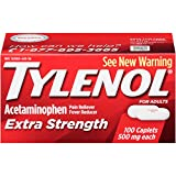 Tylenol Extra Strength Caplets, 100 Count