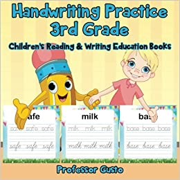 Buy Handwriting Practice 3rd Grade Childrens Reading Writing