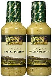 Olive Garden Signature Italian Dressing (Pack of 2) 16 oz Size