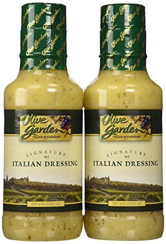 Olive Garden Signature Italian Dressing (Pack of 2) 16 oz Size