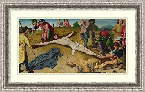 Female Loincloth Costume (Framed Art Print 'Crucifixion, c. 1481' by Gerard David)