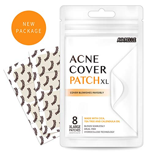 - Acne Pimple Patch Absorbing Cover Blemish (XL Square / 8 PATCHES)
