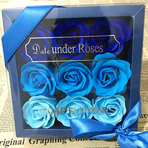 10 Piece Rose Flower Soap Gift Set Only $5.99