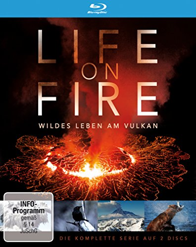 Life on Fire - Wildes Leben am Vulkan (2 Blu-rays)