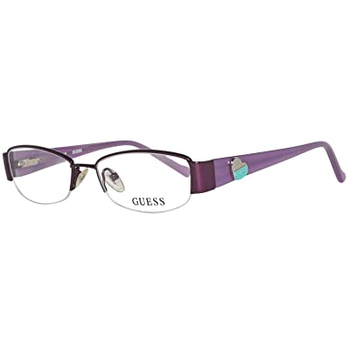 immagini dettagliate nuovo concetto stile squisito Guess Brille Gu9074 O24 47 Montature, Viola (Violetta), 47.0 ...