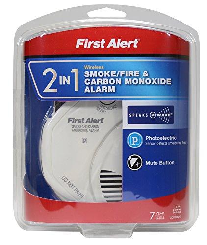 First Alert Z Wave Smoke Co Alarm