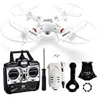 Flymemo HQ 898B Remote Control Helicopter 2.4G 4 Channels 6-axis Gyro Professional Drones Headless Mode Quadcopter With WIFI FPV 2.0MP HD Camera Real-time Video Transmission Aerial Technology