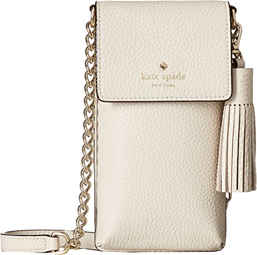 Kate Spade New York Women's North/South Crossbody Phone Case for iPhone 6, 6s, 7, 8 Bleach Bone One Size by Kate Spade New York
