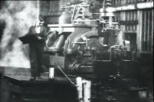 Assembling and testing turbines, Westinghouse works