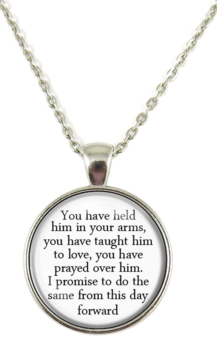 Amazon mother gift mother of the groom necklace gift for amazon mother gift mother of the groom necklace gift for future mother in law wedding chain pendant necklace jewelry aloadofball Choice Image