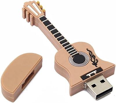 FAMILIZO USB 2.0 De La Guitarra del Estilo del Metal ...