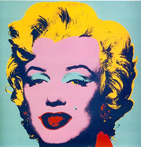 Andy Sticker - Marilyn Vinyl Sticker Decal 1-012 by Andy