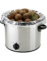 PanSaver EZ Clean Multi Use Cooking Bags and Slow Cooker Liners, 50 Count