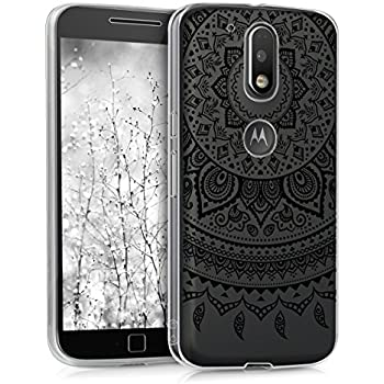 Amazon.com: kwmobile Motorola Moto G4 / Moto G4 Plus Bamboo ...