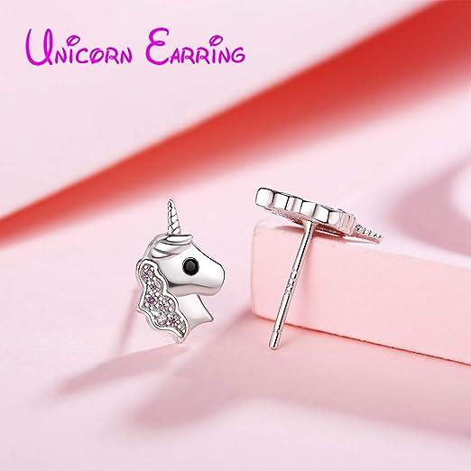 Best Wing Jewelry .925 Sterling Silver White Butterfly //w Polka Dot Childrens Stud Earrings