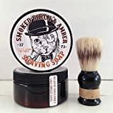 Smoked Birch Amber Mens Shaving Soap Jar, Sophisticated Mens Soap, Shaving Soap for Men, Gifts for Men, Fun Gifts For Dad, Funny Cats, Wet
