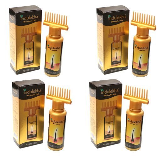 4 x Indulekha gold Complete Hair Care Oil (Pack of 4)