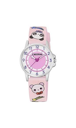 Calypso Watches Reloj Analógico para Unisex Niños de Cuarzo con Correa en Plástico K5775/4: Amazon.es: Relojes