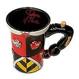 Disney Parks Alice in Wonderland Queen of Hearts Dress Ceramic Mug
